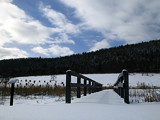 Snow Covered Bridge by Jims, Photography->Landscape gallery