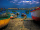 Harbor (HDR) by Ed1958, photography->boats gallery