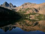 Crimson Lake by somiaj, Photography->Mountains gallery