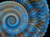 Spiral Of A Bluebird by Joanie, Abstract->Fractal gallery