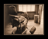 A Very Antique Barber Chair by verenabloo, Photography->Still life gallery