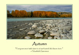 Autumn Poster by LynEve, photography->landscape gallery