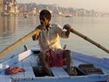 Rowing on the Ganges in Varanasi - part 2 by silicon, Photography->People gallery