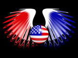 American Wings by shaymayca1, Illustrations->Digital gallery