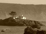 sepia lighthouse by atensinferno, Photography->Lighthouses gallery