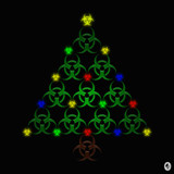 Cybergoth Xmas Tree by Jhihmoac, illustrations->digital gallery