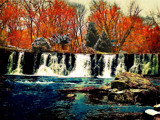 Autumn to Winter by Kevin_Hayden, Photography->Waterfalls gallery