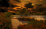 Sundown over Shibdon by biffobear, photography->manipulation gallery
