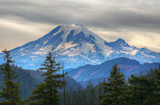 Mt.Rainier by DigiCamMan, photography->manipulation gallery