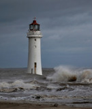 A Dark And Dreary Day #3 by braces, Photography->Lighthouses gallery