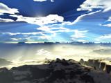 Morning Mist by TokenArt, Computer->Landscape gallery