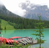 Stunning Emerald Lake And Canoe Rental by Zava, photography->water gallery