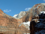 Winter at Zion by petenelson, Photography->Mountains gallery