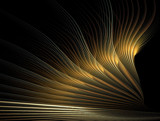 Golden Wing by jswgpb, Abstract->Fractal gallery