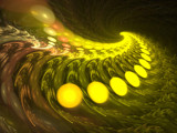 follow the yellow blob road by moforuss, Abstract->Fractal gallery