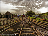 Rail Yard by Dunstickin, photography->trains/trams gallery