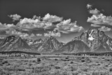 Grand Tetons in Black and White by gr8fulted, contests->b/w challenge gallery