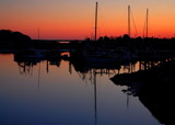sunset glow with boats by solita17, Photography->Sunset/Rise gallery