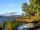 Spreading Waters - Lake Waihola by LynEve, Photography->Water gallery