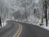 Winter Road by jojomercury, photography->landscape gallery