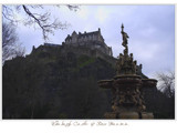 Edinburgh Castle & Ross Fountain... by fogz, photography->castles/ruins gallery