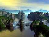 Legacy Falls by DixieNormus, Computer->Landscape gallery