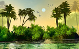 Island by jazzilady, computer->3d gallery