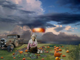 Ceremonial Pumpkins by pastureyes, photography->manipulation gallery