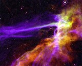 Cygnus Loop Supernova Blast Wave by edahs, space gallery