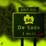 AU Road Sign - Exit 236 by Jhihmoac, illustrations->digital gallery