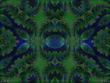 Dreams Of Blue And Green by Joanie, abstract->fractal gallery