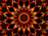 Elemental Kaleidoscope - Fire by wendykroy, Abstract->Fractal gallery