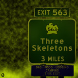 AU Road Signs - Exit 563 by Jhihmoac, illustrations->digital gallery