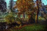 Autumn Foot Bridge by stylo, photography->bridges gallery