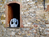 A-In a stone window by dave54, Photography->Sculpture gallery