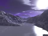 Frozen North by TokenArt, Computer->Landscape gallery