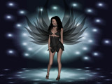 Dark angel by Donna68, Computer->3D gallery