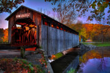 Image: Fallasberg Covered Bridge.