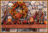 Thanksgiving Mantle by trixxie17, photography->still life gallery