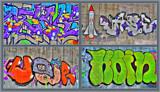 Graffiti, Graffiti by Ramad, abstract gallery