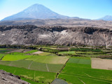Volcanic Farmland by rhelms, Photography->Mountains gallery