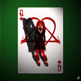 The Queen of Hearts by Jhihmoac, illustrations->digital gallery