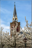 Village Steeple In Spring by corngrowth, photography->general gallery