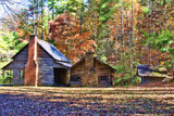 CABIN IN CADES COVE TN. by nanadoo, photography->architecture gallery