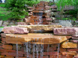 Falls in the Gardens by kidder, Photography->Waterfalls gallery