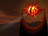 Eye of Sauron 3rd Revision by Samatar, Contests->Manip Contest gallery