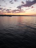 Lake Michigan sunset by utshoo, Photography->Boats gallery