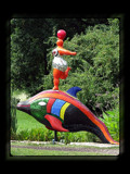 MBG - Niki in the Garden - Nana on Dolphin by Hottrockin, Photography->Sculpture gallery