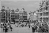 Grand Place B&W by corngrowth, contests->b/w challenge gallery
