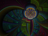 A Flower by jswgpb, Abstract->Fractal gallery